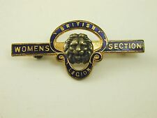 British Legion badge Womens section (numbered 446682)