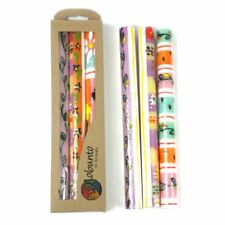 Candles Nobunto Imbali Design -Hand Painted - Set of Three Candles per box