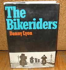 Danny Lyon The Bikeriders Original 1968 1st Hardcover Dust Jacket Motorcycles