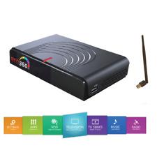 Red 360 Mega IP Receiver mit 12 Monats Abo türkisch, arabisch, deutsch IPTV WLAN