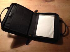 NEW -Cartera Bloc de notas  - Notepad Case - Black leather Piel negra - Nuevo