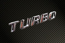 Turbo Chrome Badge HSV FPV FORD XR6 XR8 HOLDEN MALOO CX7 GHIA WRX Liberty STI