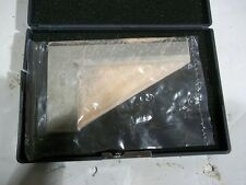 "Hardened Precision Steel Sq with Beveled Edges Beam Length: 3"", Blade Length: 5"""