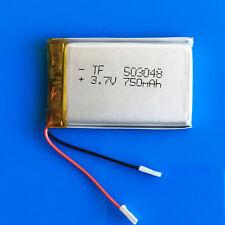 3.7V 750mAh Li Po Battery for MP3 PSP Vedio Pen DVD GPS Speaker Recorder 503048