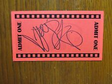 "JOEY  KING   (""Ramona  and  Beezus/Ramona  Quimby"") Signed  3"" x 5""  Red  Card"