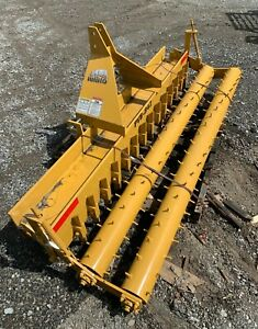 """Rhino PVB-842 86"""" Double Roller Pulverizer Farm Equipment Made in USA New"""