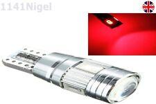 T10 W5W 6 SMD LED CANBUS LIBRE DE ERRORES LED Coche Auto Bombilla Lateral Xenon Rojo