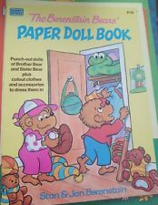 Stan & Jan Berenstain - THE BERENSTAIN BEARS PAPER DOLL BOOK [Uncut] h1