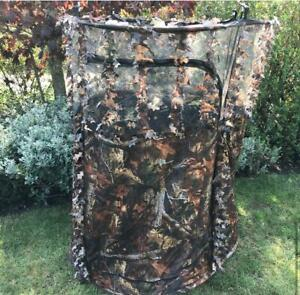 1 Man Hide Tent All In One Hunting/Photography Camo Mesh
