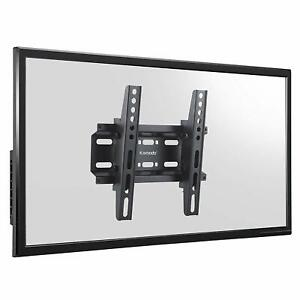 "Ultra Slim Tilting TV Wall Bracket Mount for LED/LCD / 3D TV – 14"" to 42"""