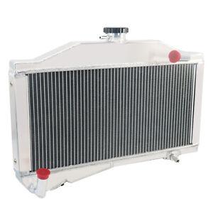 2 Row Aluminium Radiator For Morris Minor 1000 948/1098 1955-1971 1970 1969 1968