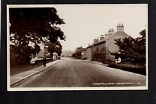 Denby Dale, Wakefield Road - west of Barnsley - real photographic postcard