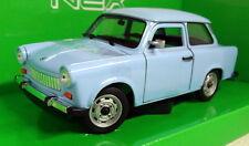 Nex models 1/24 Scale 24037W Trabant 601 Light blue Diecast model car
