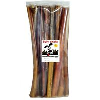 "12"" inch BULLY STICKS Natural Dog Chews Treats Regular Thick USDA & FDA Approved"