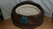 small animal bed brown