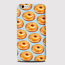 Glazed Donuts Sweet Tasty Phone Case Cover