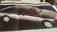 1980s FORD SCORPIO Japanese Sales Brochure