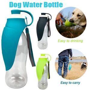 580ml Haustier Hunde Wasserflasche Trinkflasche Trinknapf Wassernapf Trink Näpfe