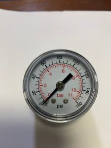 Dynamic fluid components cds-4p-01d*160psi,pressure gauge,new in box,never used