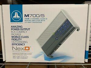 JL Audio M700/5 Marine 5-Channel Amplifier 700 Watts RMS Class D JL Audio Amp
