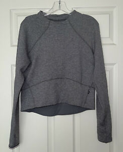 LULULEMON Hill And Valley Mock Neck Cropped Pullover Top 8 Rulu