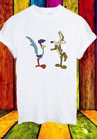 Wile E. Coyote And The Road Runner Cartoon Movie Men Women Unisex T-shirt 647
