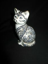Royal Crown Derby,paperweight,Ltd Edition, Majestic Cat,signed Julie Towell 1998