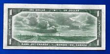 1954 CANADA Canadian ONE 1 DOLLAR BILL prefix E/N NOTE AU