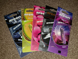 Areon Perfume Liquid Car Air Freshener 5ml ( Choose Scent / Smell )