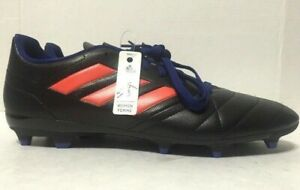 Adidas Ace 17.4 FG Soccer Cleats Black Leather Womens S77070 Size 10