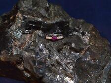 Ring 585er Gelbgold mit Diamanten & Rubin