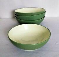 Set Of 4 Noritake Colorwave Green Cereal/Soup Bowls #8485