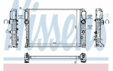 NISSENS Radiador, refrigeración del motor MERCEDES-BENZ CLASE E CLS 67102A