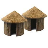 African hut hutte africaine case scenery décor 28mm Warhammer Age of Sigmar
