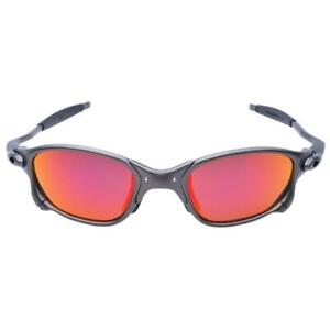 Polarized Iridium Round Sunglasses Madman Alloy Running Glasses Cycling Sport