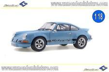 Porsche 911 RSR 2.8 GULF Bleu 1974 SOLIDO - SO 1801101 - Echelle 1/18