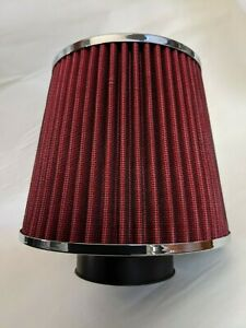 """Spectra Cone Air Cleaner, 6.0"""" Dia, 8.0"""" Tall, 2.5"""" ID, Washable Element,"""
