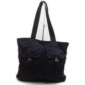 Prada Tote Bag B10311 Purple Nylon 1411204