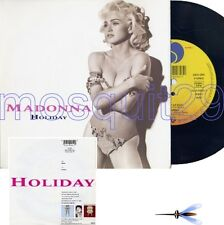 """MADONNA """"HOLIDAY"""" RARE 45RPM MADE IN GERMANY 1991 MINT"""