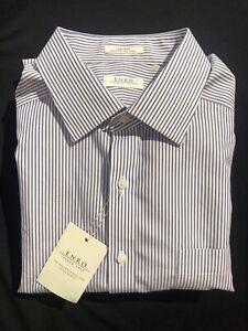 18 36/37 Tall Enro Men's Dress Shirt, Point collar. NWT $89.50