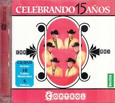 Control Celebrando 15 Anos CD+DVD New
