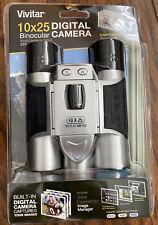 Vivtar 10x25 Digital Binocular Camera and Large Gadget Bag New