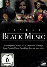 DVD NEU/OVP - Finest Black Music - Stevie Wonder, Whitney Houston u.a.