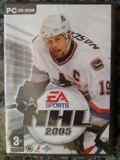 NHL 2005 EA Sports PC Nuevo precintado Hockey sobre hielo castellano in english
