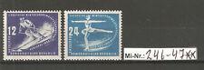 DDR Mi-Nr.: 246-47 Wintersportmeisterschaften 1950 sauber postfrischer Satz