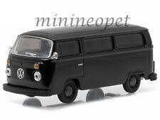 GREENLIGHT  27840 C BLACK BANDIT 1978 VW VOLKSWAGEN TYPE 2 BUS VAN 1/64 BLACK