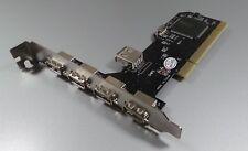5Port USB 2.0 PCI Scheda Plug-in #H244