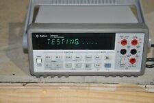 Hp Agilent 34401a 6 12 Digit Multimeter Amp Bumper Set And Handle Keysight