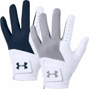 UNDER ARMOUR GOLF GLOVE UA MEDAL SYNTHETIC TEXTURED MENS LEFT HAND