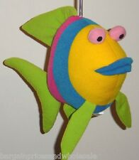 Angel fish Ceiling Floatin Spring Bouncing Soft Toy Decoration BabY Bedroom